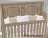 H. Neutral Baby Crib