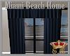 MBH Blue Curtains