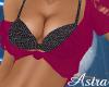 *AL* Sweater Bikini Top