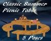 C-S-Picnic Table