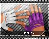 [c] Fusion Gloves Purple