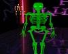 Green Neon Skeleton