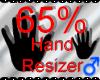 *M* Hand Scaler 65%