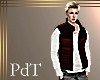 PdT Blk&Raisin Puff Vest