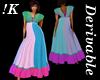 K!HIghWaist Empire Dress