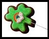 shamrock cookie lolli