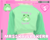 Toadly Cute Frog Sweater