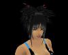 emo hair 2 black n pink