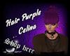 Hair Purple Celina