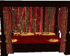 gryffindor room bed