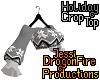 Holiday Crop Top