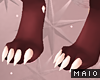 🅜 GINGER: claw feet