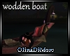 (OD) Wooden boat