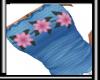 Flower me Blue Top