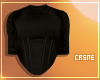 Corset shirt - Black