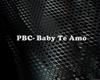 (BD) PBC-Te Amo Baby