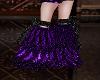 Purple n Black M Boot