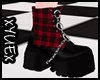 *Y* Red Punk Boots
