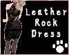 Leather Rock Dress