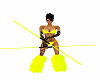 electric rods neon rave