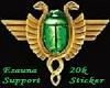 Esa 20k Support Sticker