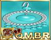 QMBR Earrings Pearls Aq