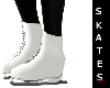 White Animated Skates