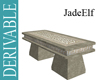 [JE] Celtic Stone Bench
