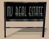 MJ Real Estate Sign