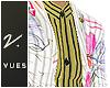 v. Floral Stripe Suit