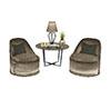 D   Poet II Twin Chairs