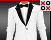 Short GQ Suit White