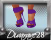 Amanda Purple Platforms