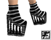 ~F~ GothSquiggle Boots