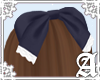 Proper Lady Bow~ Navy I