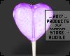 Purple Lollipop f