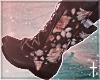 † floral boots