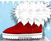 ! L! XMAS Fur Shoes M