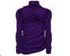 Turtleneck purple
