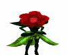 talking rose costume