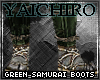 Green Samurai Boots