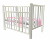 Baby Girl Crib Poseless