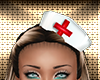 White Pvc Nurse Hat