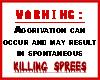 Killing Spree Warning