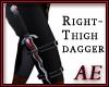 Ruby Steel Dagger - R