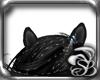 BlK-UNICORN Ears horse