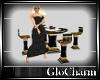 Glo* TableFor4LeatherG/B