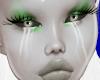 Lipsill i grönt.