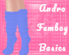 Femboy Socks - Blue