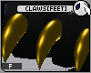 ~DC) Claws[feet] Gold F